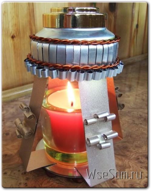 Самодельная ароматическая лампа