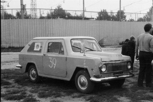 Первый слет самодельных автомобилей в России