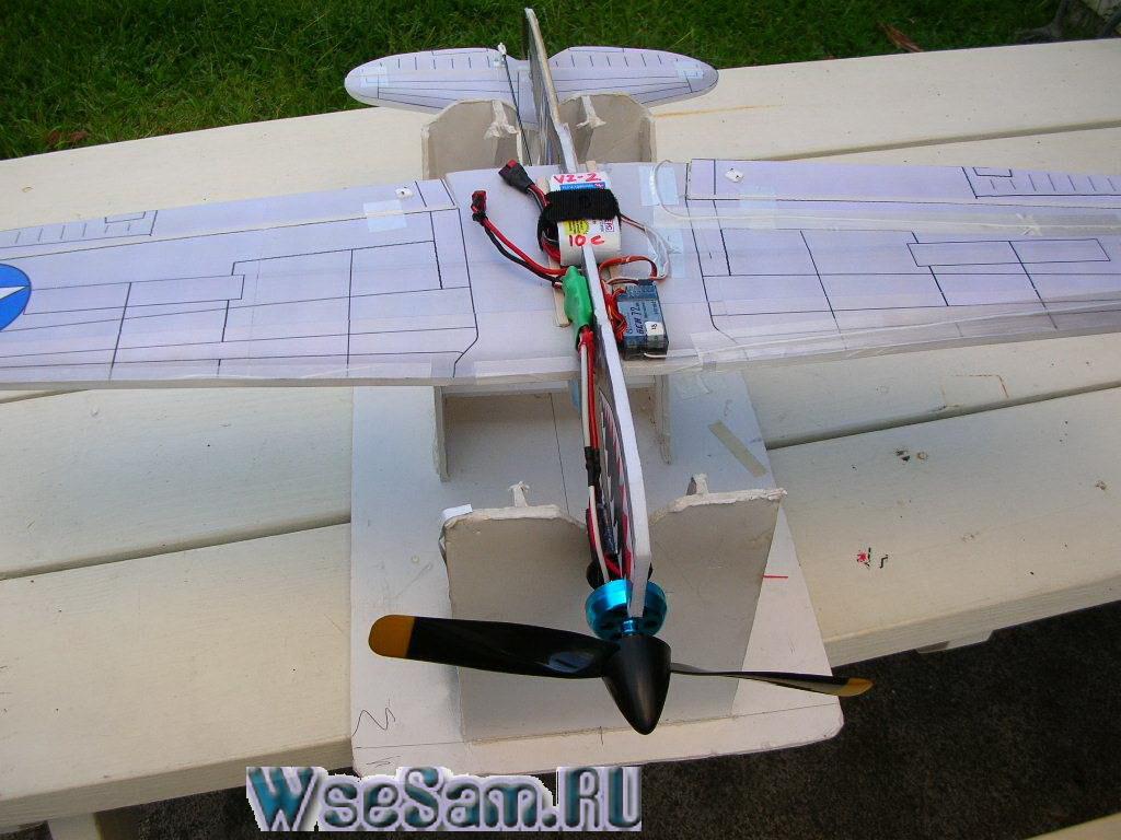 Быстрое изготовление авиамодели своими руками