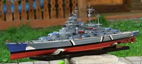 Бисмарк, модель для сборки
