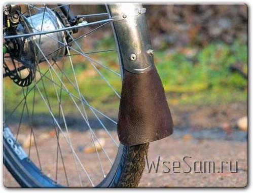 Самодельный брызговик для велосипеда