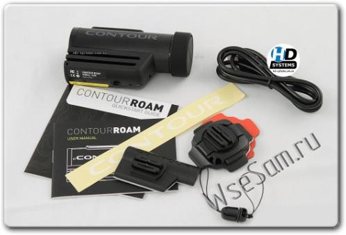 Contour Roam - авторегистратор для мотоциклиста