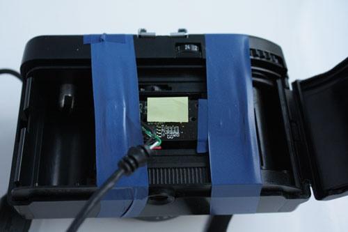 Самодельная цифровая фотокамера из старого фотоаппарата