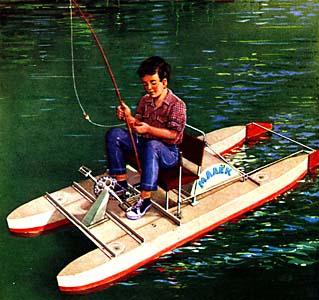 Лодка своими руками катамаран