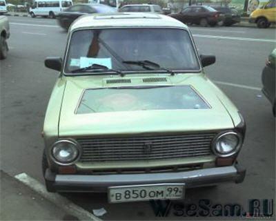 Моддинг автомобиля ВАЗ 2101 своими руками