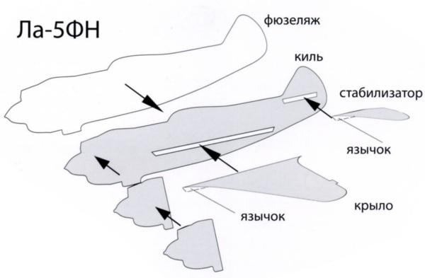 Свободнолетающая авиамодель