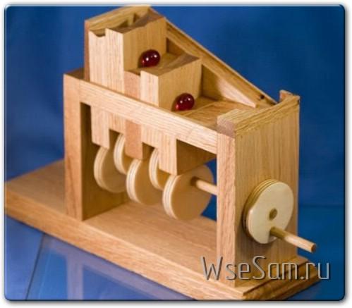 Деревянная Marble machine