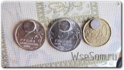 Монета на холодильник