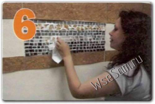 Украшение дома с помощью мозайки
