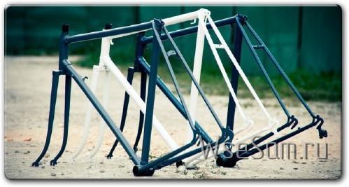 Как покрасить раму велосипеда