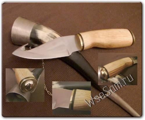 Как сделать рукоять ножа