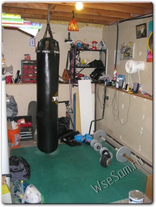 Как сделать самодельный боксерский мешок