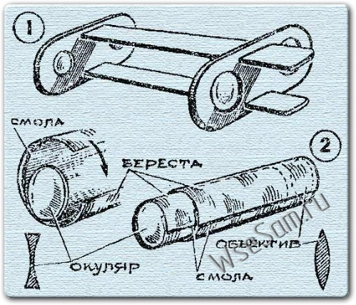 Как сделать бинокль