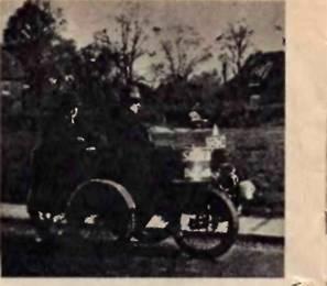 Старинные автомобили оригинальных конструкций