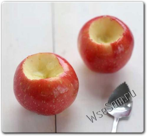 Яблочная свеча своими руками