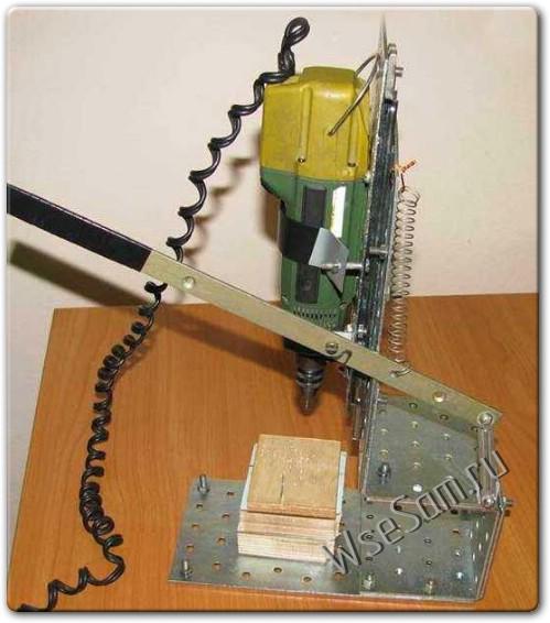 Как сделать простой сверлильный станок