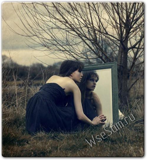 Устранение трещин на зеркалах
