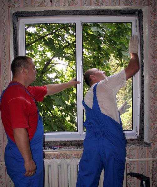 Заказ установки пластиковых окон