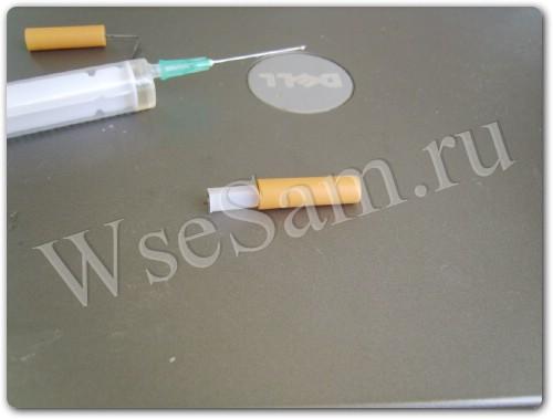 Как заправить электронную сигарету