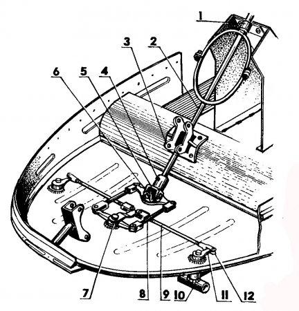 Как сделать рулевое на самодельном снегоходе 116