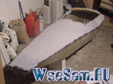 как шпаклевать деревянную лодку