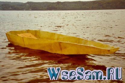 лодка из дсп