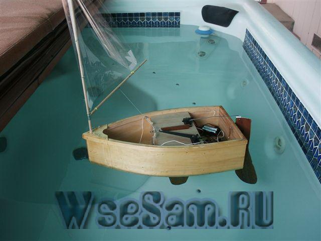 как самому сделать лодку на радиоуправлении