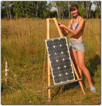Солнечные батареи для дома.