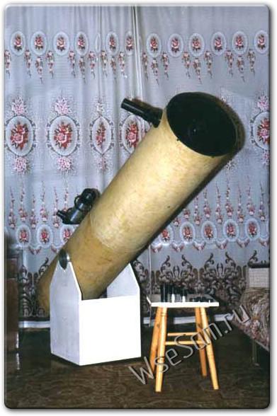Как сделать своими руками телескоп