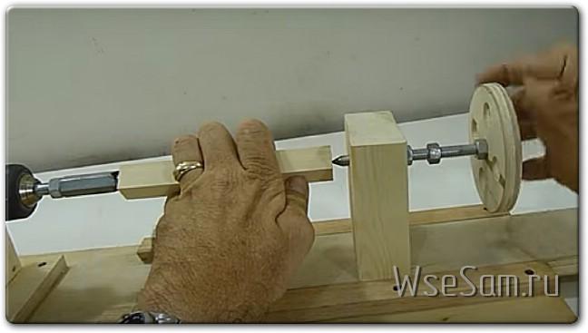 Как самому сделать из дрели токарный станок по