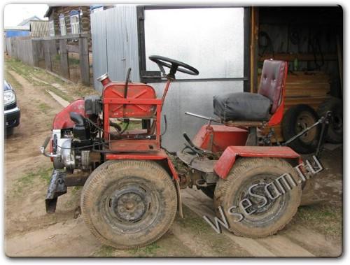 Купить своими руками трактор