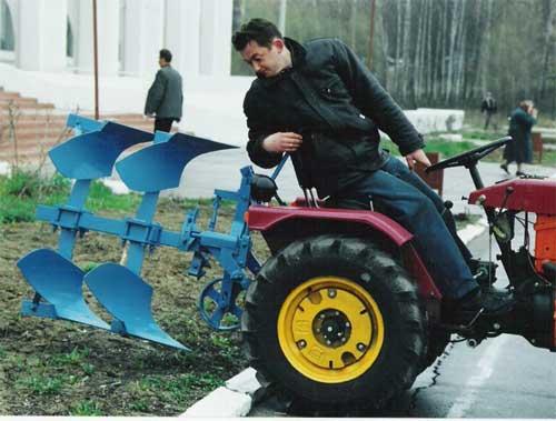 Как сделать кран на трактор своими руками фото 948